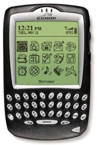 BlackBerry 6710 telefon